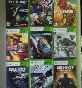 Продам диски на Xbox 360 !!!