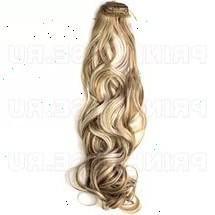 Волосы искусственные на заколках 8 прядей.
