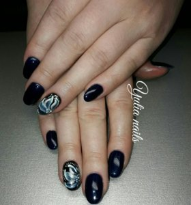 💅Наращивание ногтей на формы