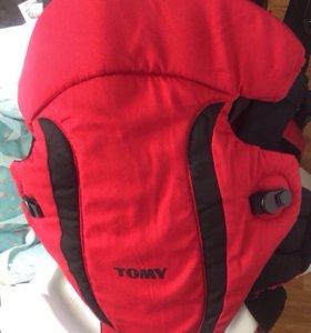 Кенгуру рюкзак tomy как новый