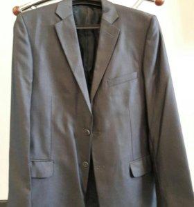 Пиджак мужской, темно-серый