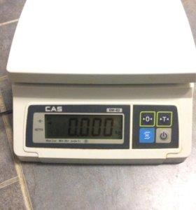 Весы электронные настольные