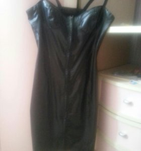Кожанное платье