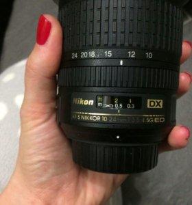 Nikon DX AF-S Nikkor 10-24 mm