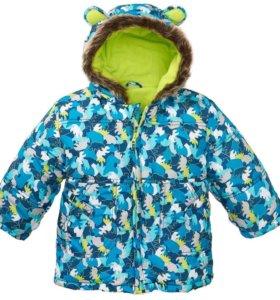 Новая куртка на синтепон из Германии,размеры 80,86