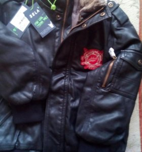 Куртка новая Sela р.116
