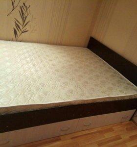 Кровать МАРС 160*200 с ящиками