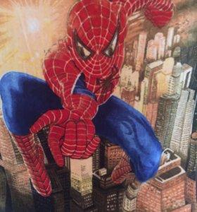 Плед Новый человек паук