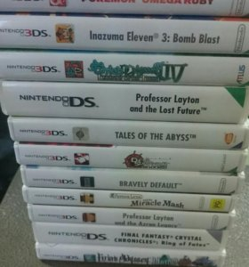 Картриджи на Nintendo 3ds