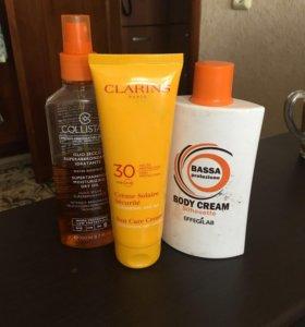 Солнцезащитные крема