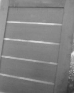 Дверь меж комнатная цвет венге 89613670741