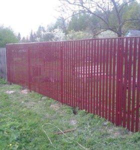 Ограды, заборы...