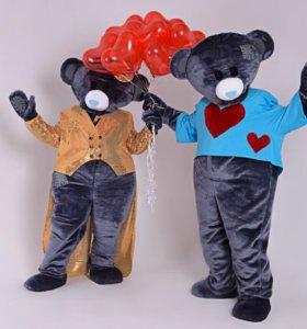 Ростовые куклы Мишки