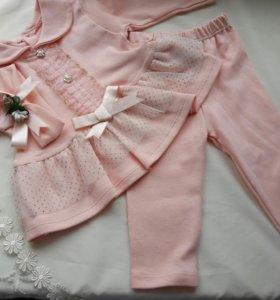 Новый костюмчик тройка для принцессы