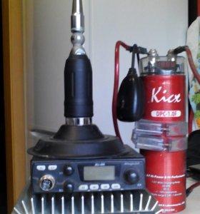 Комплект автомобильной радиостанции
