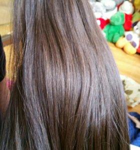 Волосы. Живой срез косы