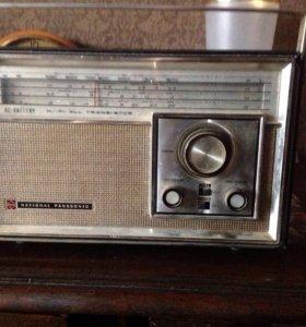 Радиоприёмник винтажные National panasonik