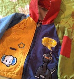 Куртка детская (ветровка) до 1 года