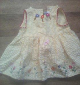 Платье 3-6м