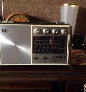 Радиоприёмник винтажный SILVER