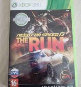 Игра на xbox 360 need for speed run