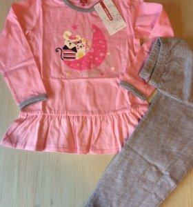 Пижама для девочки, новая