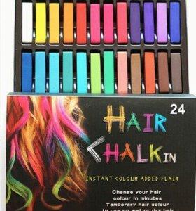 Мелки для окрашивания волос 6,12,24 шт.