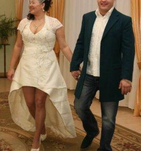 """Свадебное платье в стиле """"кабаре"""" (сшито на заказ)"""