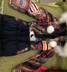 Куртки на девочку 9-11лет