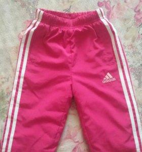 Новые утепленные штанишки Adidas