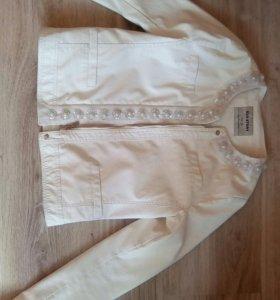 Куртка из кожзам