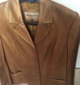 Качественная куртка из натуральной кожи