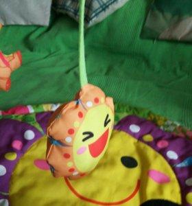 Детский развивающий игровой коврик