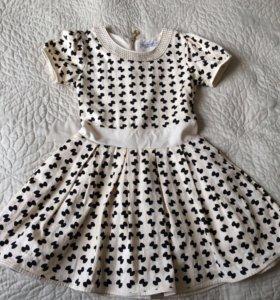 Платье для девочки 128 размера