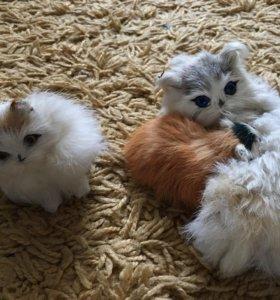 Игрушка кошка с котёнком