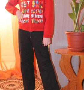спортивный костюм+мастерка на мальчика 7- 8 лет