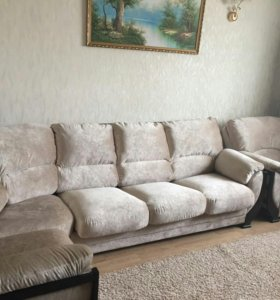 Угловой диван с креслом ЛЕОНАРДО