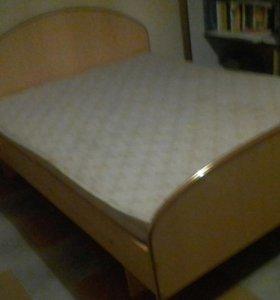 Кровать 2 х спальная размер1400-2000