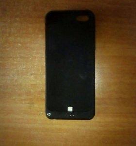 Чехол зарядка на iPhone 5/5s