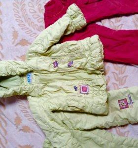 Пакет вещей на девочку на 110-116