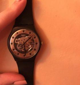 Часы swaths чёрные