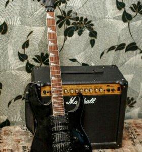 Гитара и комбик