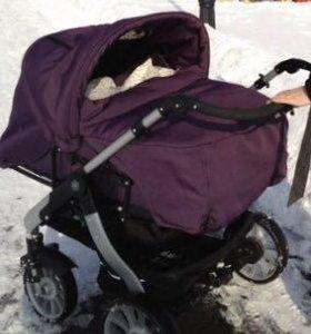 Детская коляска для двойни Teutonia