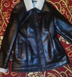 Куртка черная демисезонная