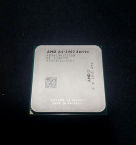 Процессор AMD A4-3400 Series