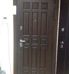 Новая входная дверь Спарта
