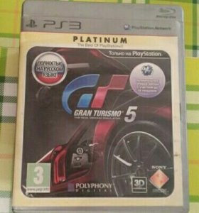 Gran Turismo 5 platinum (sony playstation 3)