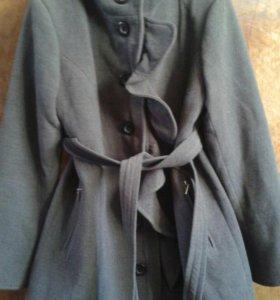 Шерстяное пальто 48-50