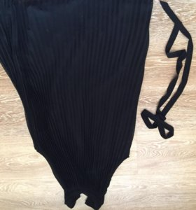 Легкое шифоновое платье zara