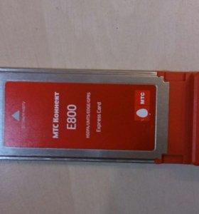 3G-модем huawei E800 Express card